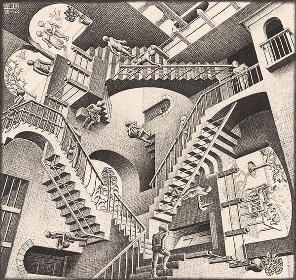 escher relativity